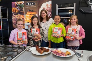 Thame Food Festival 2015 Prize Winning Helpers with Natalie Coleman