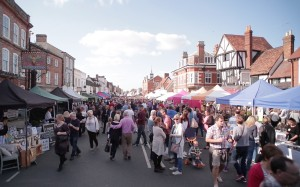 Thame Food Festival 2015 street view